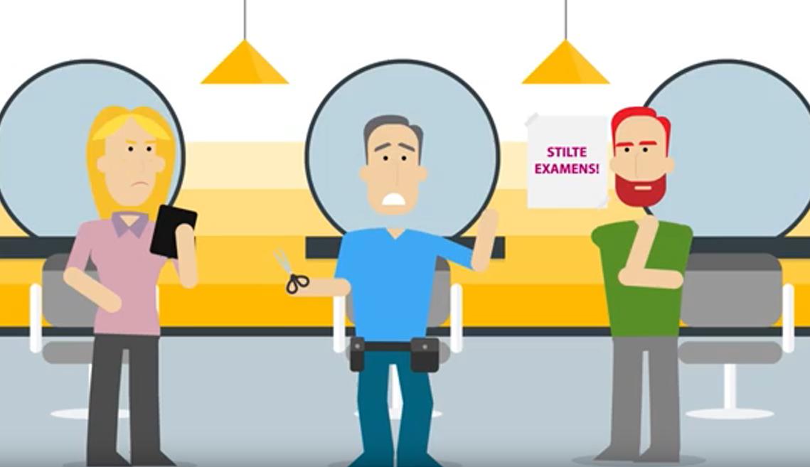 In dit filmpje kun je zien wat Examenservices en Examenplatform Entree doen.